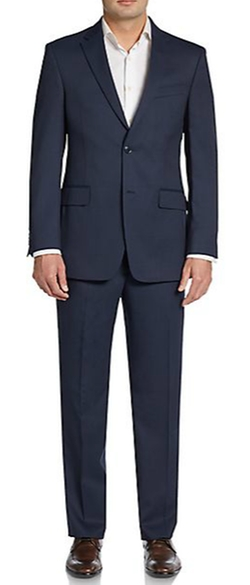 Tommy Hilfiger - Slim-Fit Fine Striped Wool Suit