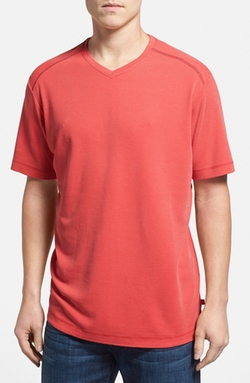 Tommy Bahama - Pebble Shore V-Neck T-Shirt