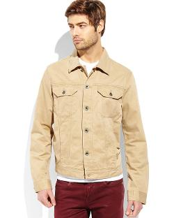 IZOD - Twill Trucker Jacket