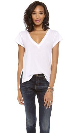 LNA  - Carmen V Neck Top