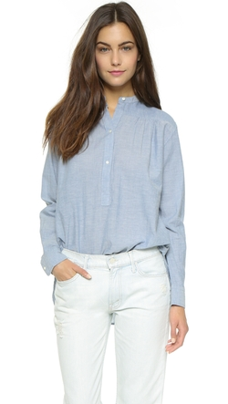 Nili Lotan  - Ruched Blouse