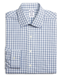 Brooks Brothers - Split Check Regent Classic Fit Dress Shirt