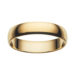 Cherish Always - Gold Wedding Band
