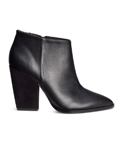 H&M - High-Heeled Ankle Boots