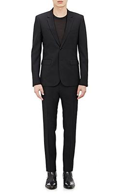 Saint Laurent - Wool Gabardine Two-Button Suit