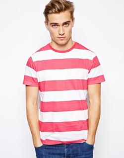 Brave Soul  - Striped T-Shirt