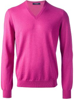 Gran Sasso - V-neck Sweater