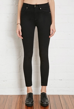 Forever 21 - High-Rise Skinny Jeans
