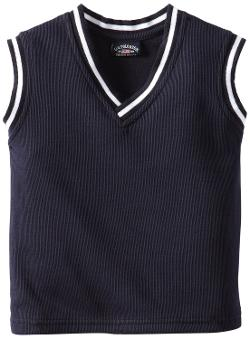 U.S. Polo Assn  - Boys 2-7 Solid V-Neck Vest