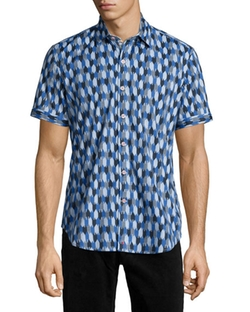 Robert Graham  - Printed Short-Sleeve Shirt