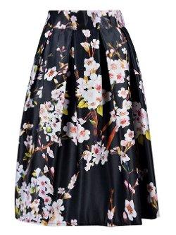 Choies - Sakura Skater Skirt with Pleats