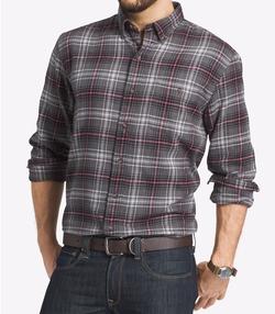 G.H. Bass & Co.  - Plaid Flannel Long-Sleeve Shirt