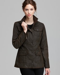 Barbour - Utility Lightweight Waxed Cotton Jacket