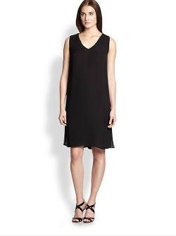 Lafayette 148 New York  - Silk Chiffon Vaughn Dress