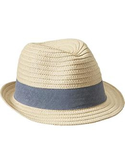 Old Navy - Straw Fedora Hat