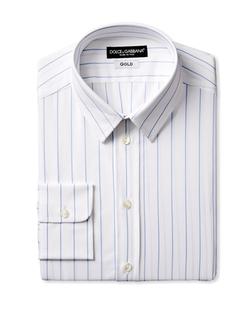 Dolce & Gabbana - Wide Stripe Dress Shirt
