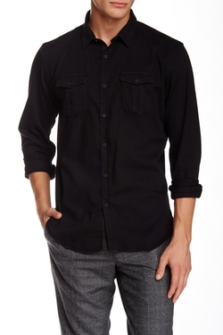 The Kooples  - Long Sleeve Fitted Shirt