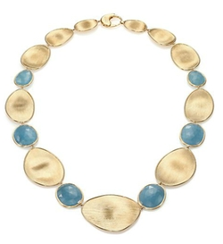 Marco Bicego - Lunaria Aquamarine Collar Necklace