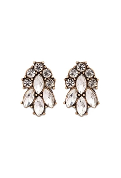 Forever21 - Mixed Rhinestone Studs Earrings