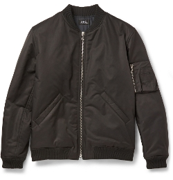 A.P.C. - Cotton-Blend Bomber Jacket
