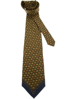 Gianfranco Ferre Vintage - Printed Tie