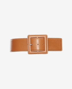 Barbara Bui - Topstitched Buckled Belt