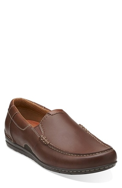 Clarks Originals - Leather Slip-On Shoes