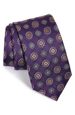 John W. Nordstrom - Messi Medallion Silk Tie