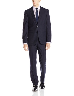 Andrew Fezza - Crosshatch Two Button Suit