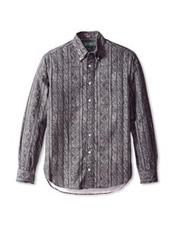 Gitman Vintage - Cable Print Button Down Shirt