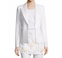 3.1 Phillip Lim  - One-Button Welt-Pocket Blazer
