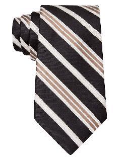 MICHAEL KORS  - Silk Stripe Tie