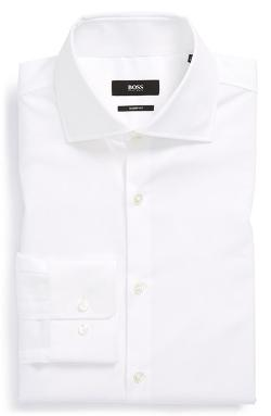 Boss Hugo Boss  - Miles Us Trim Fit Dress Shirt