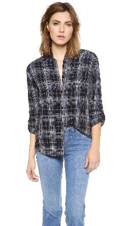 alice + olivia  - Piper Button Down Shirt