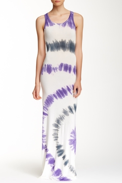 Go Couture - Tie Dye Tank Maxi Dress