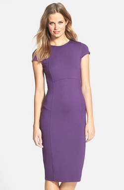 Felicity & Coco - Seamed Pencil Dress