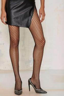 Nasty Gal - Net Life Tights