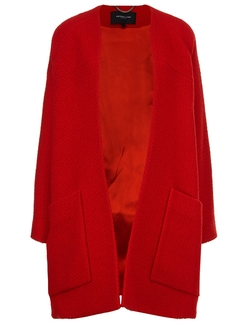 Derek Lam - Boucle Collarless Swing Coat