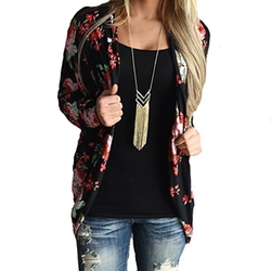 Fine Look  - Floral Printing Casual Jacket