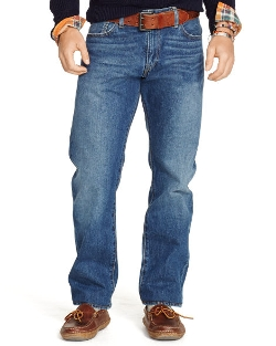 Ralph Lauren - Straight-Fit Cedar-Wash Jeans