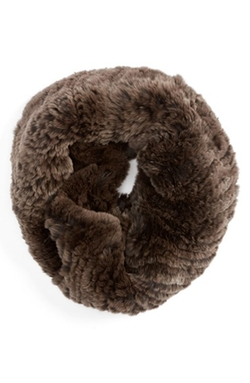 Linda Richards - Genuine Rabbit Fur Cowl Scarf