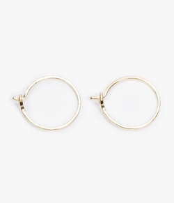 Catbird - Tiny Hoop Earrings