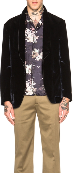 Marc Jacobs - Hammered Velvet Jacket