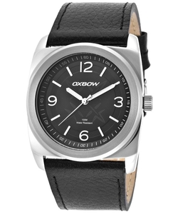 Oxbow  - Genuine Leather Black Dial Watch
