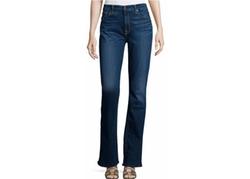 JEN7  - Riche Touche Classic Slim Boot-Cut Jeans
