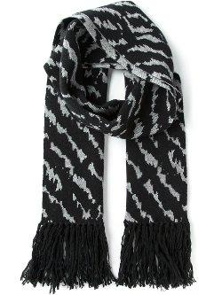 Lanvin  - Zebra Print Scarf