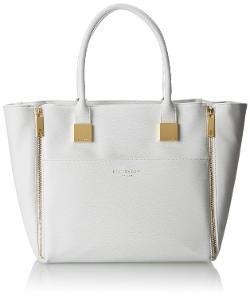 Ted Baker  - Casei Zip Detail Corsshatch Shopper Shoulder Bag