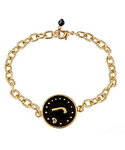 Blee Inara - Initial Charm Chain Bracelet