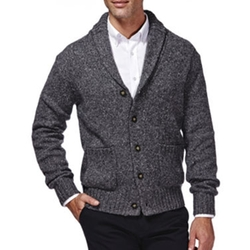 Haggar - Shawl-Collar Cardigan Sweater