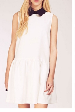 Dahlia - Sleeveless Drop Waist Dress